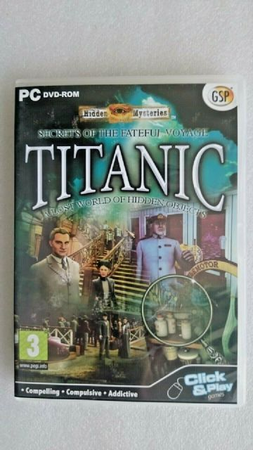 Titanic Secrets of the Fateful Voyage  (PC Windows 2009)